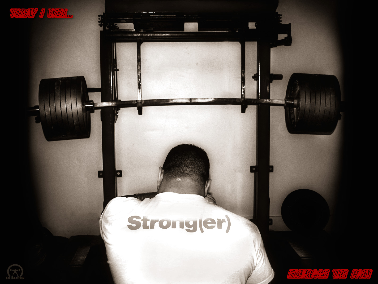 Strongman training wallpaper